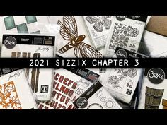 (1) 🔴LIVE REPLAY: Sizzix Chapter 3 - YouTube Chapter 3, Tim Holtz Dies, Colouring Techniques, Simon Says Stamp, 3 D, All Video, Replay, Creative Inspiration, The Creator