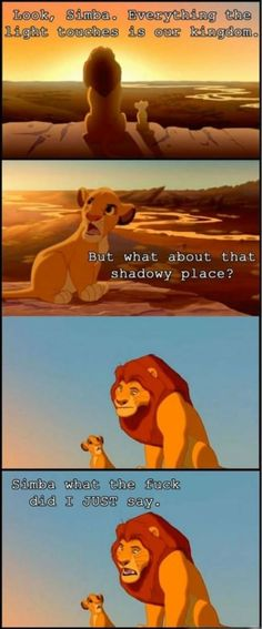 Seriously have tears running down my face and my sides are hurting from laughing so hard! Oh Simba!
