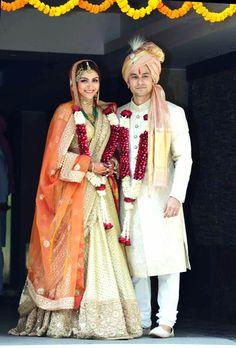 Soha Ali Khan ties the knot with Kunal Khemu. #Bollywood #Fashion #Style #Beauty