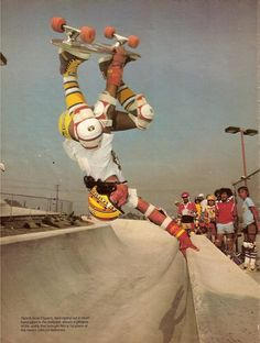 "Eddie ""El Gato"" Elguera lakewood september 1979 Skateboard Mag, Skateboard Pictures, Old School Skateboards, Vintage Skateboards, Skate And Destroy, Skate Art, Skater Boys, Parkour, The Good Old Days"