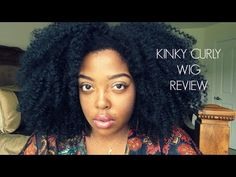 Best Kinky Curly Wig | Protective Style for Natural Hair - YouTube
