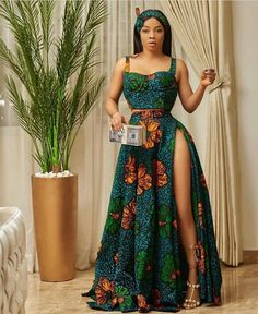 African Prom Dresses, Latest African Fashion Dresses, African Dresses For Women, African Print Fashion, African Attire, African Fashion Designers, Ankara Fashion, Africa Fashion, Tribal Fashion