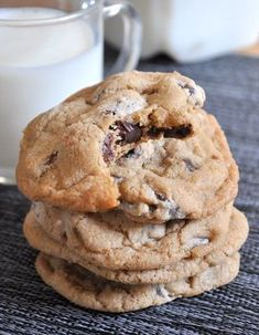 Really Good Chocolate Chip Cookies from Baking Bites - really, that's what they're called!