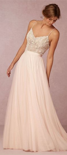 BHLDN wedding dress For more great ideas go to www.destinationweddingcollective.com