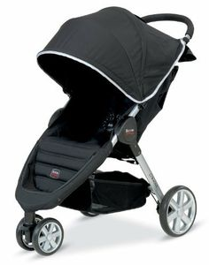 Britax B-Agile Stroller Black:     Includes a multitude of features that provide safety and comfort for your child--and convenience for you. Its one-handed folding design allows you to pack the stroller in seconds. The supportive seat features a five-point harness system that is both comfortable and secure. It adjusts to accommodate children even as they grow bigger. This stroller includes an extra-large canopy, comfort-ride suspension, and ample storage space.    http://amzn.to/bagilestroll...