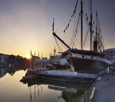 Visit Brunel's ship that changed the world - the SS Great Britain in Bristol. (And the Brunel museum & Docklands that should be open in Visit Bristol, Bristol Uk, Bristol Attractions, Wedding Venues Bristol, Boat Wedding, Wedding Ideas, England And Scotland, Winter Scenes, Change The World