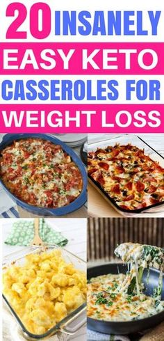 Keto Diet Casserole Recipes, Keto Recipes, Ketogenic Low Carb Meals