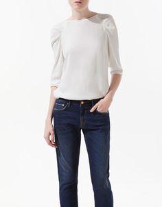 DRAPED TOP - Shirts - Woman - ZARA United States