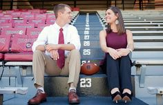 Gamecock Girl: Wedding Wednesday - Engagement Photos in Williams Brice Stadium