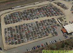 67 Awesome Junk Yards Images Yard Yards Vehicle