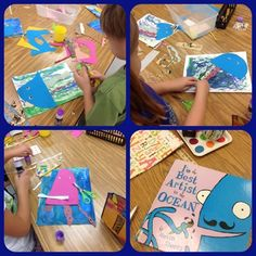 The Best Artist in the Ocean:  Mrs. Knight's Smartest Artists