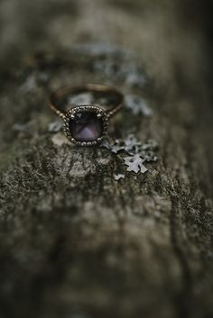 He asked her to marry him with the most unique colored engagement ring!