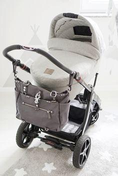 Babyzimmer hellblau grau   Friedasbaby.de  grey stroller  Fotos: Fräulein Flora
