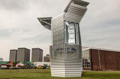 Gracias a estas torres, la polución podrá convertirse en diamantes