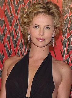 charlize theron short hairstyles - Google Search