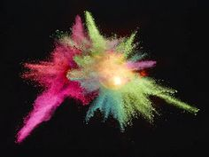 Simply Creative: Exploding Powder Photography by Marcel Christ
