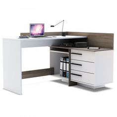 Biurko komputerowe narożne model 317