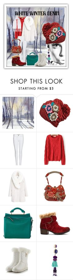 """jasinta-2805"" by jasintasss ❤ liked on Polyvore featuring Burberry, MANGO, Mary Frances Accessories, 3.1 Phillip Lim, Josef Seibel, Etro and Woolrich"