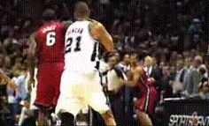 The most emotion you'll ever see from Timmy D