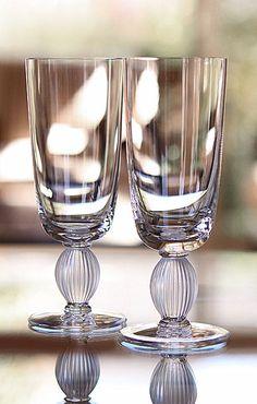Lalique Langeais Champagne Flute