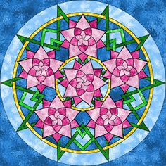 Don't Eat the Paste: Rose Mandala