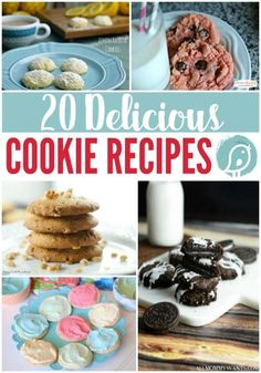 20 Delicious Cookie Recipes   I've gathered a list of cookie recipes full of flavor and variety. Some from scratch, some starting with a cake…