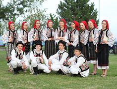 "'Opincuta"" - Moldavian folk group from the capital Chisinau."