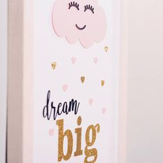 3 set for Girls A Nursery Decor Boy, Nursery Room, Golden Glitter, Baby Presents, Wall Pictures, Black Paper, Picture Wall, Girl Room, Dream Big