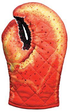 Lobster Claw Oven Mitt |  www.bwtc.com
