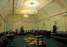 Masoneria...!!! interior da loja, con seus simbolismo...!!! #Masoneria