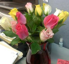Birthday flowers........