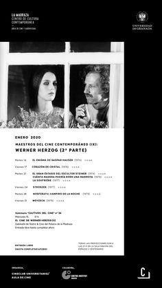 """""""(…) Sin desprenderse de su herencia cultural ha incorporado a su cine una voluntariedad fantástica que se basa más en el resultado que en el mecanismo, huyendo así de la trampa del realismo simbólico (...), para inscribirse plenamente en la parábola, comunicada a través de un proceso de fascinación. (…)"""". Albert Ferrán.  #CineClubUGR #AulaDeCineUGR #MaestrosCineContemporáneo #WernerHerzog"""