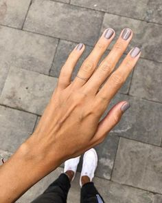 40 gorgeous nail polish colors to show your manicurist right away 56 ~ Litledres. - 40 gorgeous nail polish colors to show your manicurist right away 56 ~ Litledress - Manicure Natural, Manicure And Pedicure, Natural Nail Polish, Manicure Ideas, Fall Nail Art Designs, Short Nail Designs, Cute Nails, Pretty Nails, Classy Nails