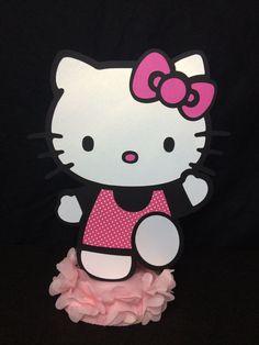 Hello Kitty Centerpiece by LoveEmilee on Etsy, $10.00