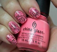 the nail polish challenge: Sharpie Nail Art
