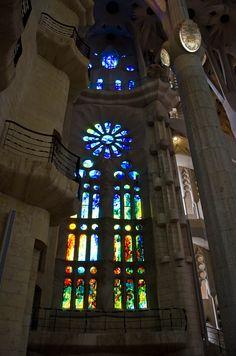 Sagrada Familia from the inside