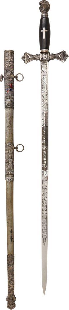 Knights Templar Sword | eBay