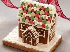 Gingerbread House recipe  via Food Network