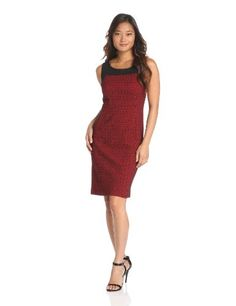 Anne Klein Women's Diamond Jacquard Dress « Clothing Adds Anytime