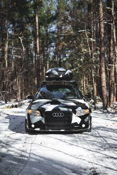 Photo Gallery: Audi wrapped, lowered on BBS CH-R Wheels Audi A4 B7, Camo Designs, Black Wheels, Car Wrap, Cars And Motorcycles, Photo Galleries, Gallery, Vehicles, Ideas