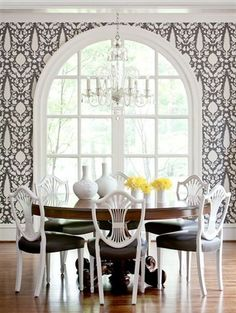 1000 images about cooleemee plantation on pinterest for Schumacher chenonceau charcoal wallpaper