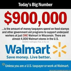 Walmart = Welfare Cheaters