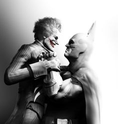 Joker & Batman - Pictures & Characters Art - Batman: Arkham City