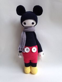 Lalylala doll inspired by Mickey Mouse by MadewithlovebyEvy