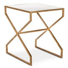 metal rectangle side table - Google Search
