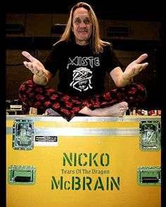 Nicko McBrain -Iron Maiden..............