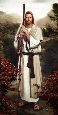 Jesus the shepherd and savior and Christ the Lord
