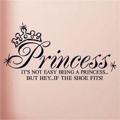 Such a little princess!