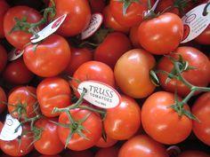 vine ripe tomatoes...