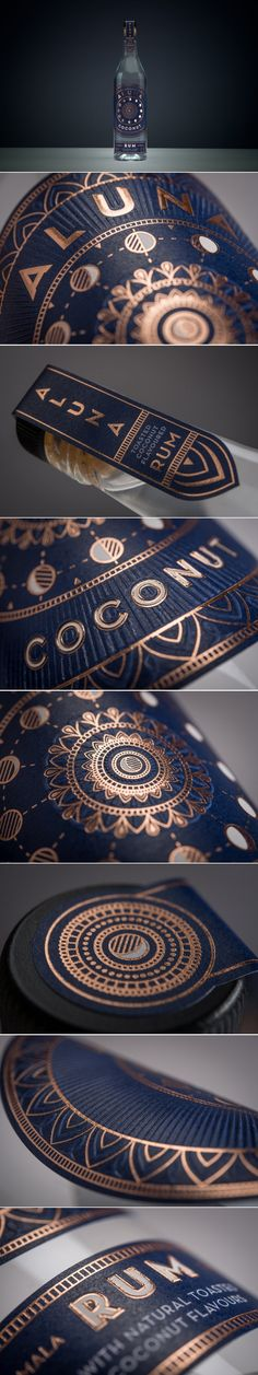Aluna Stands Out With Its Elegant Take on Rum Packaging — The Dieline | Packaging & Branding Design & Innovation News